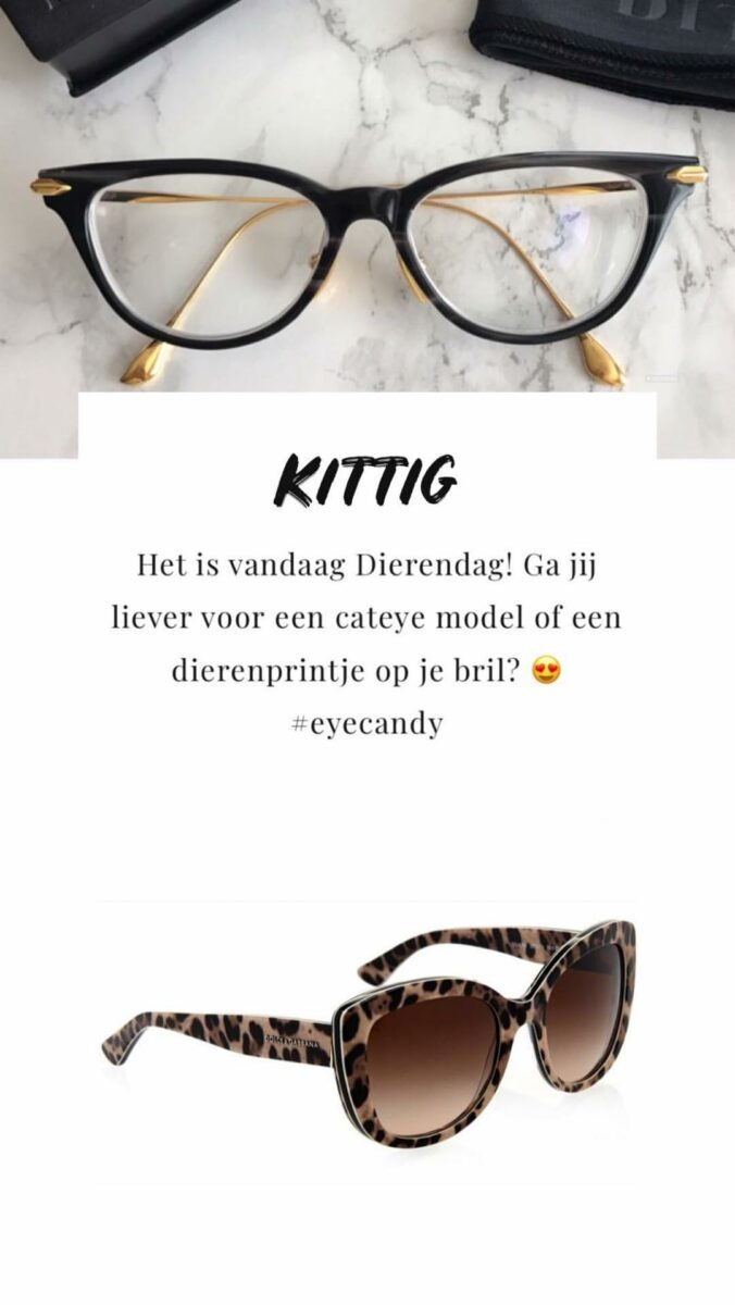 Optiek van Wely Instagram Stories