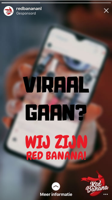 Goede Instagram stories advertentie