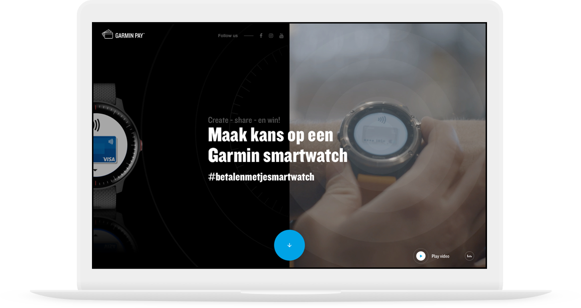 Website Garmin Pay
