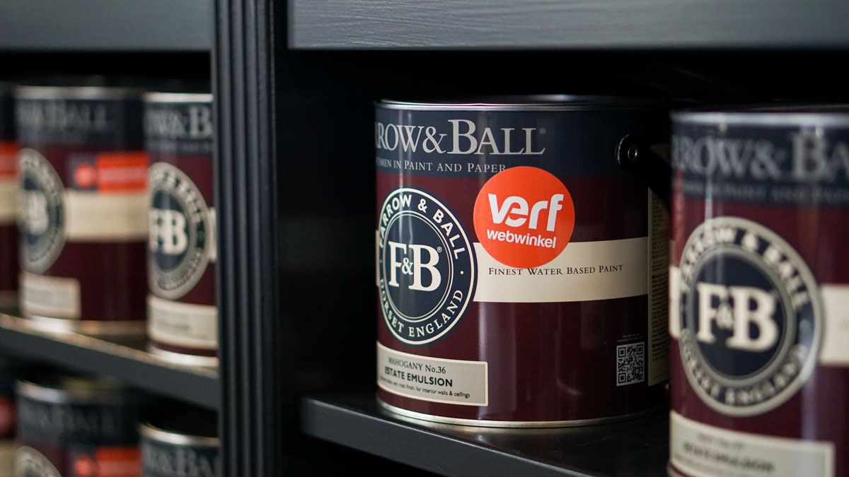 Farrow & Ball Verfwebwinkel case