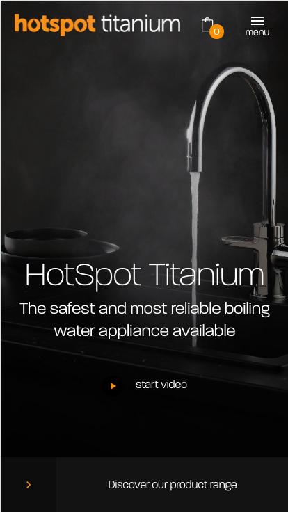 Hotspot titanium Mobile hero