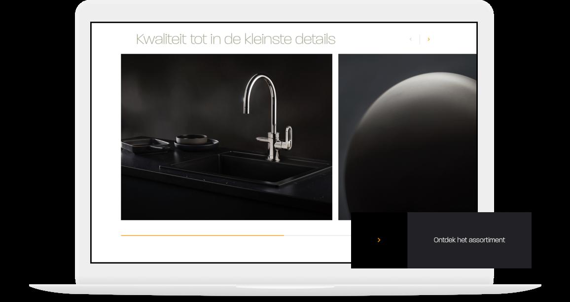 Sticky CTA op webshop Hotspot Titanium