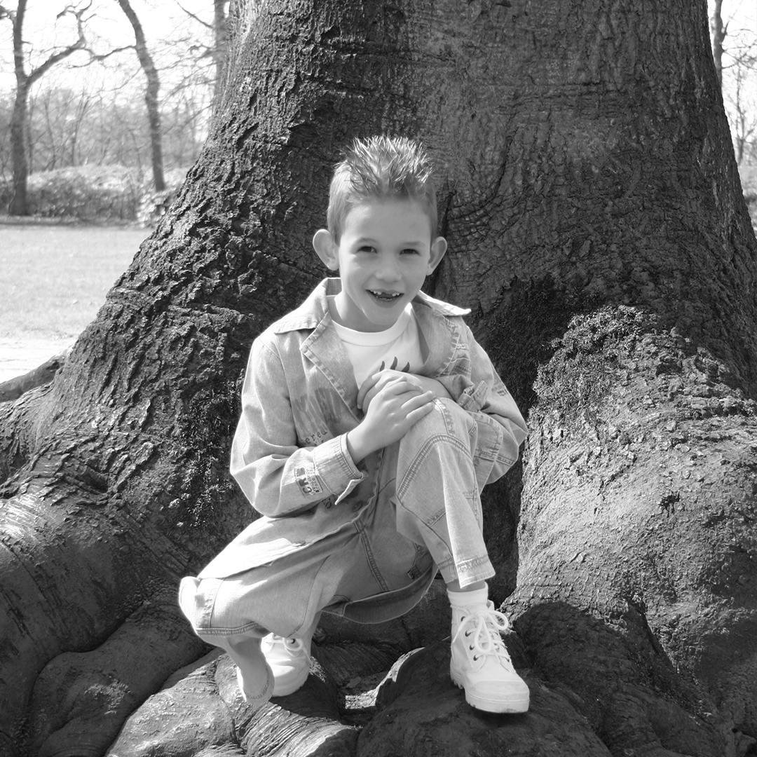 Sander Red Banana kinderfoto