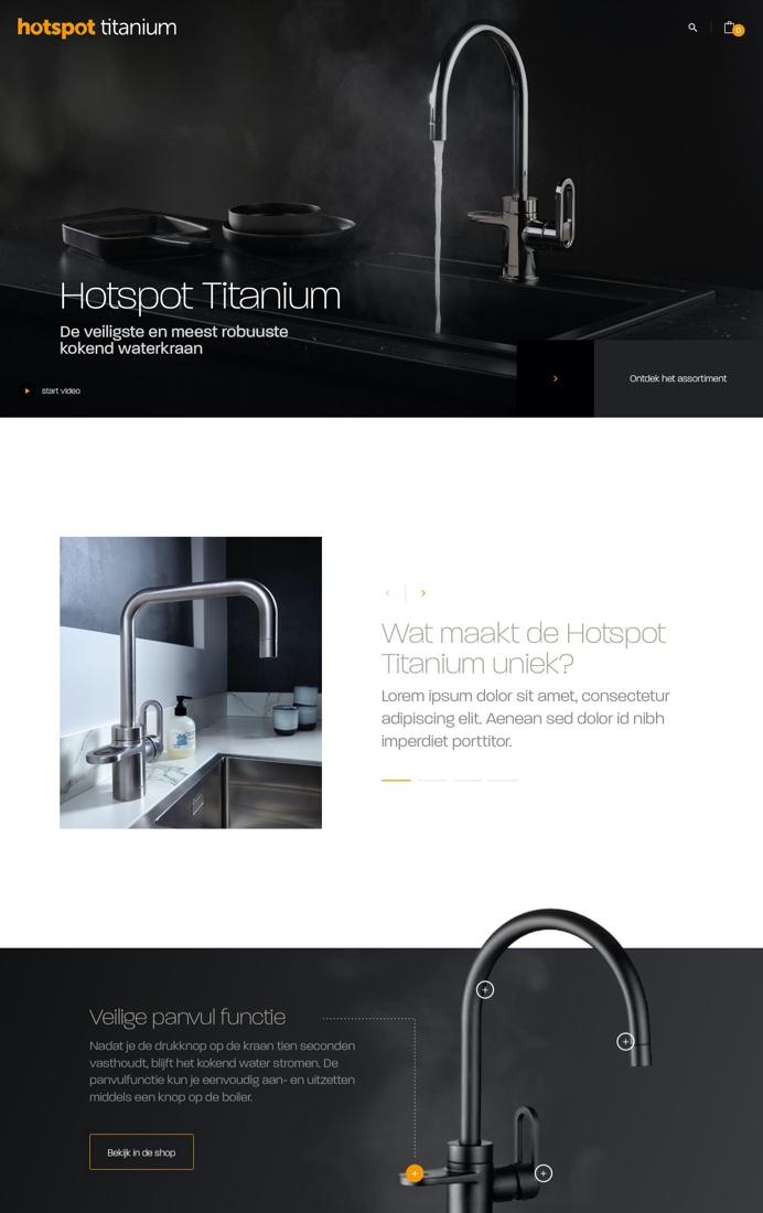 Bekijk de website van Hotspot Titanium