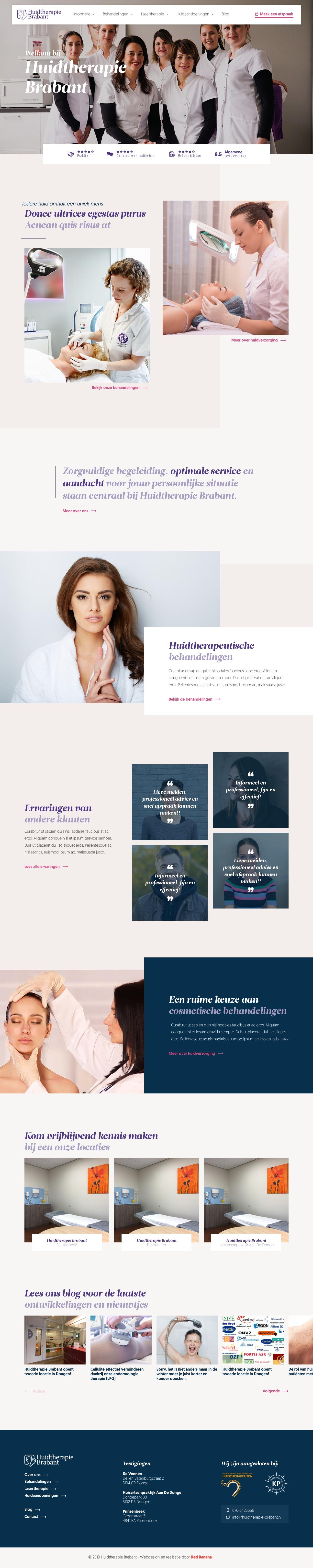 Bekijk de website van Huidtherapie Brabant