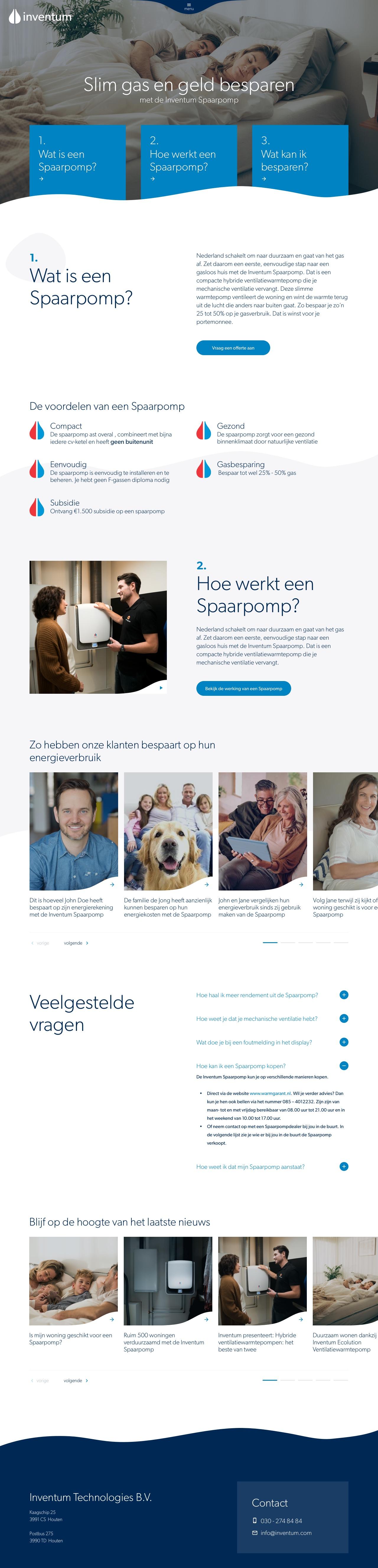 Inventum Spaarpomp