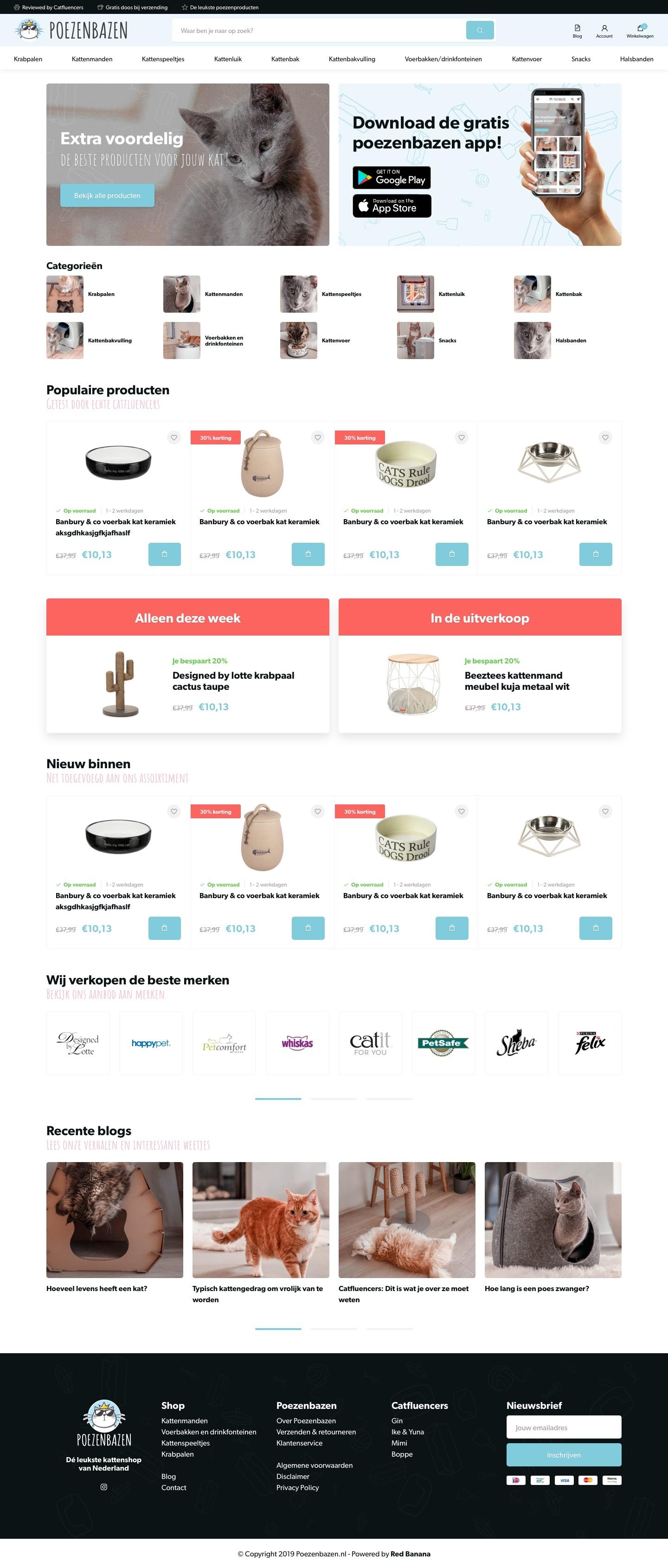 Poezenbazen homepage