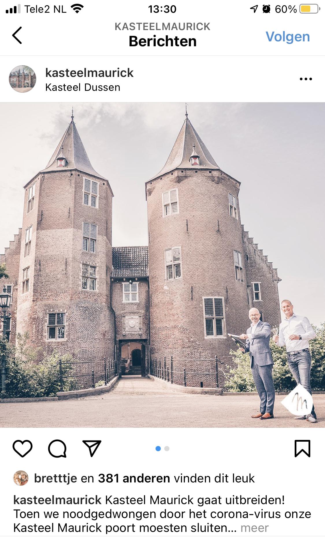 kasteel-maurick-social-media-instagram